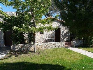 Ktima Petalea: 1 Room Vacation Cottage On Lush 200+ Acre Beachfront Property
