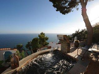 Claro de Lua Villa 5 suites seaview San Felice Circeo