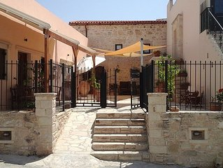 Big 2 bedroom apartment in the heart of Sivas Village, Crete.