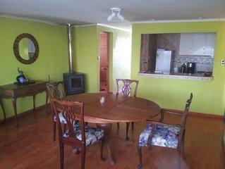 3 Bedroom Apartment, (Colchagua Valley) Santa Cruz, Free Wifi