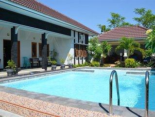 Luxury villa near Yogyakarta and the Prambanan