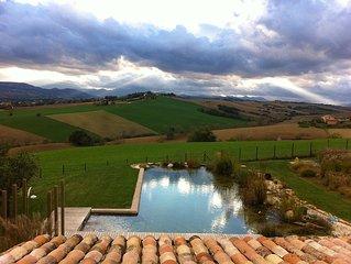 Idyllic Marche Hillside Villa