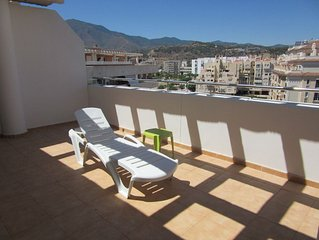 Nice Penthouse 100m2 - 300m From The Beach And Town Center