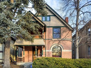 Beautiful Victorian Home Historical Landmark. Downtown Denver, walk 2 everything