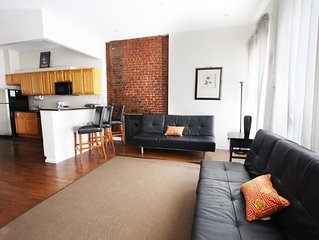 Plush And Spacious 2 Bedroom Flat In Manhattan