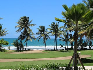 Spectacular New Beachfront Apartment At Wyndham Rio Mar Golf & Spa Resort