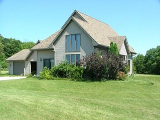 Private, Peaceful Country Home Near Elkhart Lake