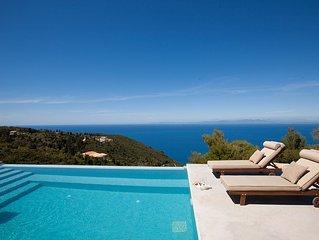 Breath Taking Sea View Luxurious Villa - Ianthi