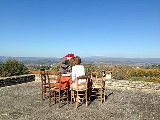 Luberon Bonnieux house with exceptional views