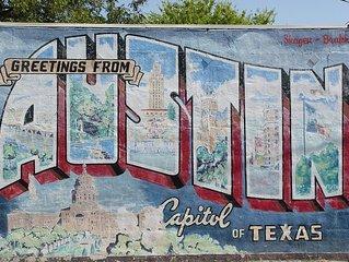 Cozy, Romantic Clarksville Historic House Downtown Austin