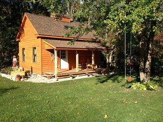 4 Season Log Cabin So Vt Beautiful