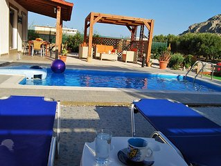 Villa With Private Pool  Peaceful Location, five Minutes from the Beach
