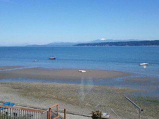 Camano Island on the beach