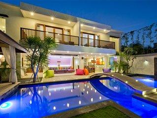 ⚡⚡⚡ Party Villa ⚡⚡⚡ True Colors up to 26 sleeps, 6 BR