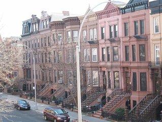 Beautiful Historic Brooklyn Brownstone neighborhood