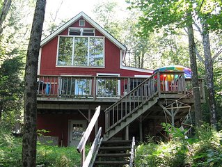 Beautiful, Family Friendly Lakeside Cabin in the Woods