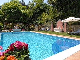 Dream holiday Villa with private Pool and Garden close to Lucca, Tuscany, Italy