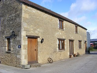 3 bedroom converted barn between Corsham and Lacock and 10 miles from Bath