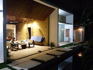 Villa scena ,fantastica villa con due camere da letto giardino e piscina privata