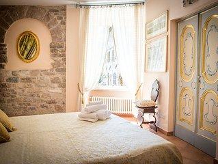 Appartamento nel cuore di Assisi con vista sulla Cattedrale