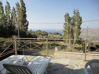 Karystos - Villa récente magnifique vue mer panoramique