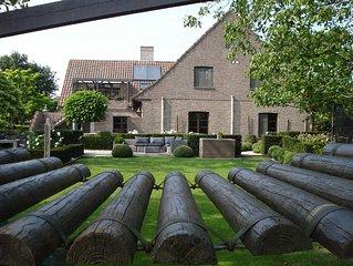 landelijk en stijlvol genieten vlakbij Brugge in een comfortabel appartement