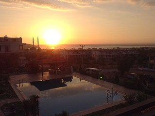 2 bed/ 2 bath Holiday Apartment In Akbuk With Shared Pool
