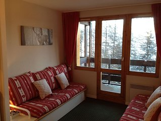 Newly Refurbished Ski-In Apartment Les Coches situated in the heart of Paradiski