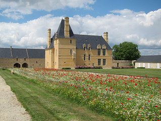 Dans un Monument Historique: à la ferme manoir à deux pas de Bayeux