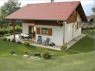 Delightful privately let detached chalet just moments from St Gervais village.