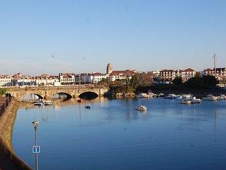 Appartement T3 meuble vue sur nivelle - 5 minutes a pied des plages -Pays Basque