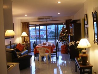 Phuket apartment in residence, on the 4th floor with elevator, quiet, comforted