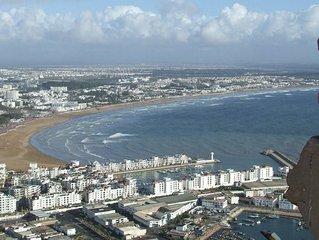 Appartement centre ville et plage