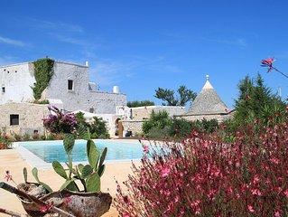 Antica masseria con piscina in Puglia - utilizzo esclusivo