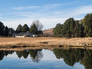 Private and tranquil self-catering accommodation in the Drakensberg Mountains