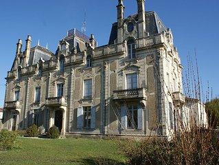 Chateau Saint Vincent Bazas in South Gironde, near Sauternes and the Landes.