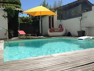 Echoppe Bordelaise avec piscine