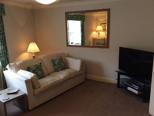 Contemporary first floor flat, newly refurbished in a central location