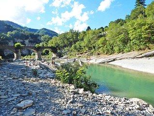 Gamberullo: alloggio in antico casale del 700 nella valle del fiume Santerno
