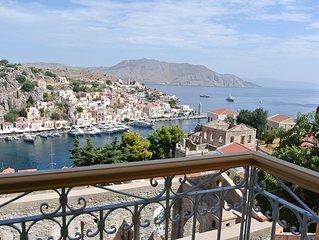 Symi : charmante maison refaite à neuf avec vue sur la mer