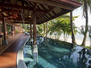 Villa Thai sur la plage , le luxe d'un hotel 5 * …. dans une villa privee !