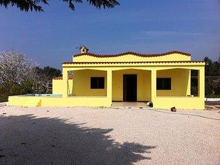 Charming villa (sleeps 5) set in an unspolit region of Puglia