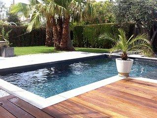 Villa moderne avec piscine privee pour 7 pers