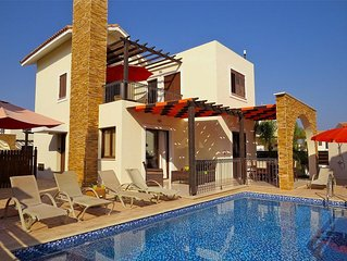 Villa Potamos, Private Pool And Sea Views with free wi-fi