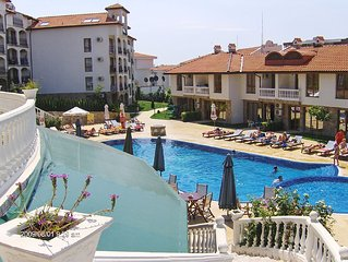 5* UP-MARKET 1BED APARTMENT `TRIUMPH HOLIDAY VILLAGE` 61.29 SQ METERS, LOVELY