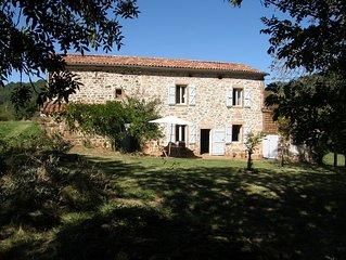 Stunning Stone Farmhouse near Cordes-sur-Ciel
