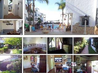 Loue appartement meublé – pieds dans l'eau – Environ Casablanca