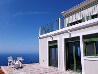 PORTO KATSIKI Ηoliday Αpartment for 6 people with GREAT SEA VIEW veranda