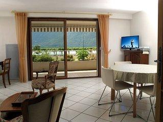 Appartement 2 pieces 58m2 classe 4 etoiles bord du lac face Dent du Chat.