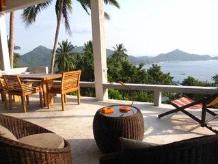 The Bungalove koh Tao, Maison design avec magnigique vue mer